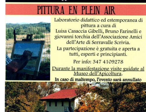 PITTURA EN PLEIN AIR AL MAGLIETTO